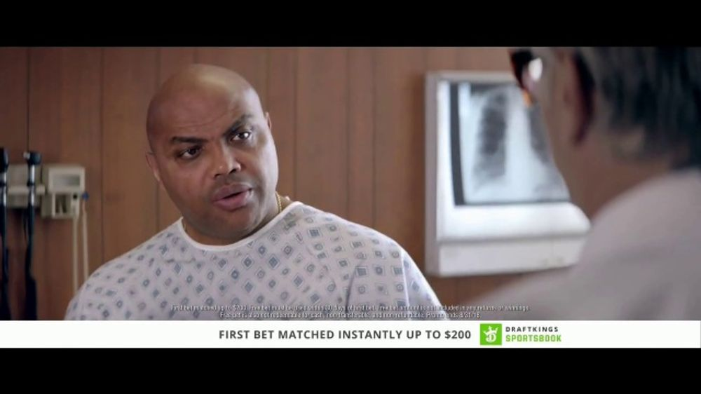 DraftKings Sportsbook TV Commercial, 'Good News, Bad News' Feat. Charles Barkley