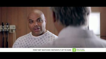 DraftKings Sportsbook TV Spot, 'Good News, Bad News' Feat. Charles Barkley - Thumbnail 2
