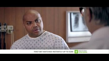 DraftKings Sportsbook TV Spot, 'Good News, Bad News' Feat. Charles Barkley