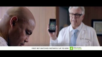 DraftKings Sportsbook TV Spot, 'Good News, Bad News' Feat. Charles Barkley - Thumbnail 9
