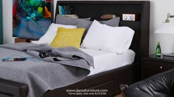 Dania Summer Bedroom Event TV Spot, 'Save on Every Bedroom' - Thumbnail 5