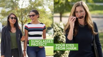 Pearle Vision TV Spot, 'Your Eyes Can Get a Sunburn'