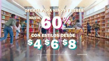 Old Navy TV Spot, 'Regreso a clases: ofertas para niños y bebés' [Spanish] - Thumbnail 9