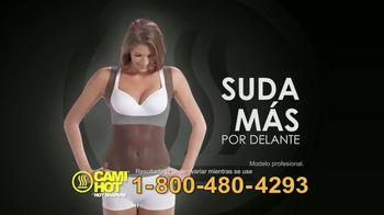 Hot Shapers Cami Hot TV Spot, 'Absorbe' [Spanish] - Thumbnail 4