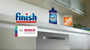 Finish Jet-Dry Rinse Aid and Bosch TV Spot, 'Cleaner Drier Dishes' - Thumbnail 10