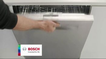 Finish Jet-Dry Rinse Aid and Bosch TV Spot, 'Cleaner Drier Dishes' - Thumbnail 5