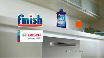 Finish Jet-Dry Rinse Aid and Bosch TV Spot, 'Cleaner Drier Dishes' - Thumbnail 9