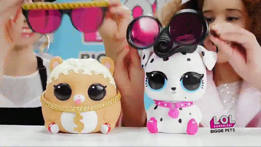 L O L Surprise Eye Spy Series Biggie Pets Tv Commercial Wear And