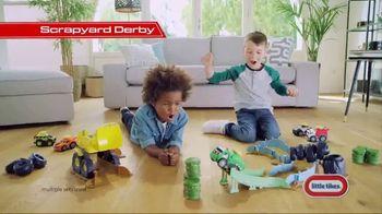 Little Tikes Slammin' Racers Scrapyard Derby TV Spot, 'Ready, Set, Slam!'