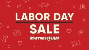Mattress Firm Labor Day Sale TV Spot, 'No Mistake' - Thumbnail 2