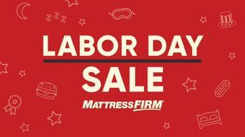 Mattress Firm Labor Day Sale TV Spot, 'No Mistake' - Thumbnail 3