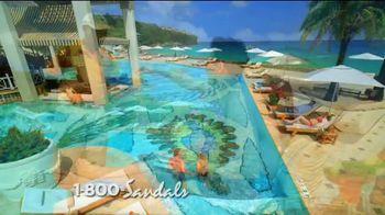 Sandals Resorts Saint Lucia TV Spot, 'Play Around' - Thumbnail 3