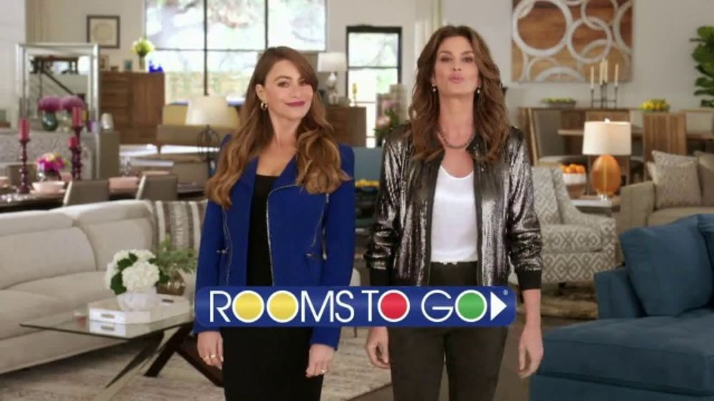 Rooms To Go Tv Commercial Sofia Vergara Collection Cindy Crawford Home Ispot Tv