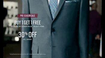 Men's Wearhouse Pre-Season Sale TV Spot, 'Stand Out' - Thumbnail 5