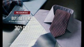 Men's Wearhouse Pre-Season Sale TV Spot, 'Stand Out' - Thumbnail 7