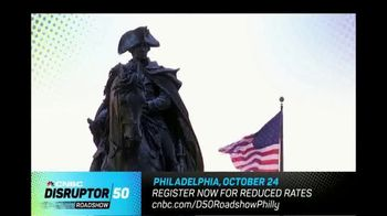CNBC TV Spot, '2018 Disruptor 50 Roadshow: Philadelphia' - Thumbnail 3