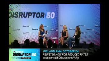 CNBC TV Spot, '2018 Disruptor 50 Roadshow: Philadelphia' - Thumbnail 6