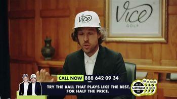 VICE Golf TV Spot, 'Overpaying for Golf Balls' Featuring Erik Lang - Thumbnail 2