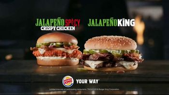 Burger King Jalapeño Spicy Crispy Chicken TV Spot, 'Try One' - Thumbnail 8