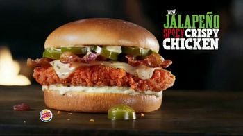 Burger King Jalapeño Spicy Crispy Chicken TV Spot, 'Try One' - Thumbnail 2