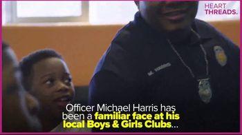 Boys & Girls Clubs of America TV Spot, 'Heart Threads: Officer Harris' - Thumbnail 1