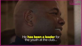 Boys & Girls Clubs of America TV Spot, 'Heart Threads: Officer Harris' - Thumbnail 3