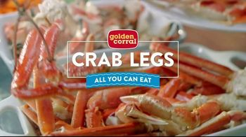 Golden Corral All You Can Eat Crab Legs TV Spot, 'Feast: $24.99' - Thumbnail 1
