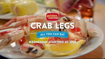 Golden Corral All You Can Eat Crab Legs TV Spot, 'Feast: $24.99' - Thumbnail 9