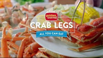 Golden Corral All You Can Eat Crab Legs TV Spot, 'Feast: $24.99' - Thumbnail 2
