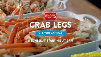 Golden Corral All You Can Eat Crab Legs TV Spot, 'Feast: $24.99' - Thumbnail 3