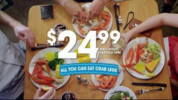 Golden Corral All You Can Eat Crab Legs TV Spot, 'Feast: $24.99' - Thumbnail 5