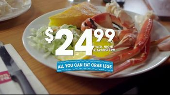 Golden Corral All You Can Eat Crab Legs TV Spot, 'Feast: $24.99' - Thumbnail 8