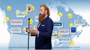 Wyndham Rewards TV Spot, 'Best Travel Conditions' Featuring Kristofer Hivju - Thumbnail 8
