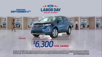 Ford Labor Day Sales Event TV Spot, 'Incredible Deals' [T2] - Thumbnail 7