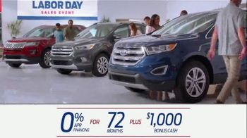 Ford Labor Day Sales Event TV Spot, 'Incredible Deals' [T2] - Thumbnail 3