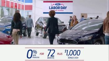 Ford Labor Day Sales Event TV Spot, 'Incredible Deals' [T2] - Thumbnail 4
