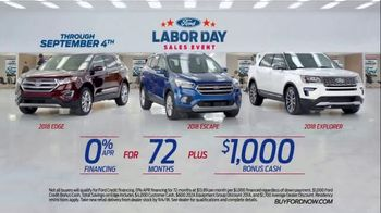 Ford Labor Day Sales Event TV Spot, 'Incredible Deals' [T2] - Thumbnail 6