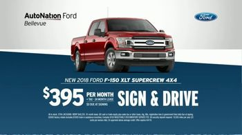 AutoNation Ford TV Spot, 'Join the Crowd: Ford F-150' - 643 commercial airings