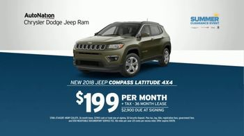 AutoNation Chrysler Dodge Jeep Ram TV Spot, 'Join the Crowd: Jeep Compass' - Thumbnail 7