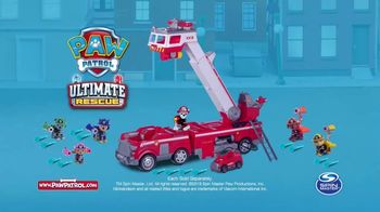 PAW Patrol Ultimate Rescue Firetruck TV Spot, 'Hop In' - Thumbnail 10