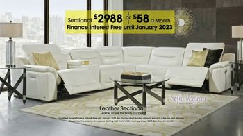Rooms to Go TV Spot, 'Labor Day: Plush Leather Sectional'