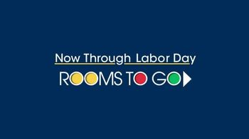 Rooms to Go TV Spot, 'Labor Day: Plush Leather Sectional' - Thumbnail 1