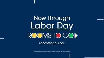 Rooms to Go TV Spot, 'Labor Day: Plush Leather Sectional' - Thumbnail 10