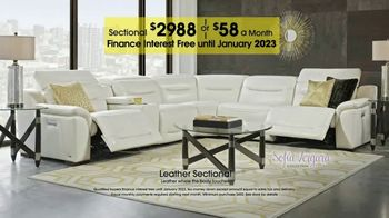Rooms to Go TV Spot, 'Labor Day: Plush Leather Sectional' - Thumbnail 5