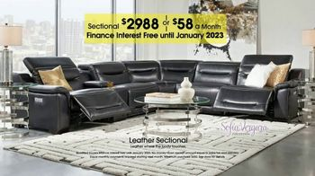 Rooms to Go TV Spot, 'Labor Day: Plush Leather Sectional' - Thumbnail 6