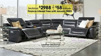 Rooms to Go TV Spot, 'Labor Day: Plush Leather Sectional' - Thumbnail 8