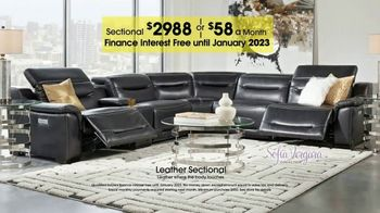 Rooms to Go TV Spot, 'Labor Day: Plush Leather Sectional' - Thumbnail 9