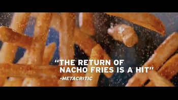 Taco Bell Nacho Fries TV Spot, 'Sequel as Satisfying as the Original' - 1390 commercial airings