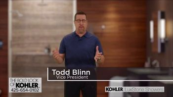 Kohler LuxStone Showers TV Spot, 'Get More Room Out of Your Shower' - Thumbnail 2