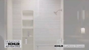 Kohler LuxStone Showers TV Spot, 'Get More Room Out of Your Shower'